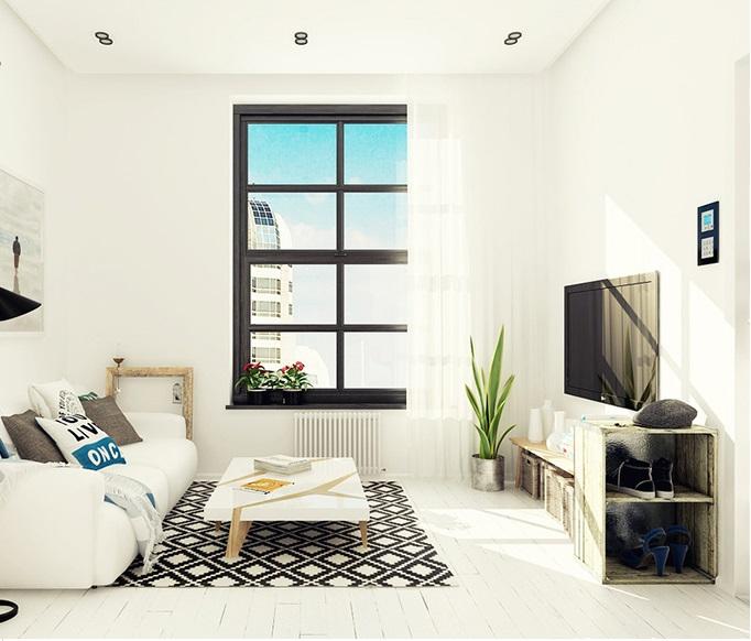 Thiết kế nội thất theo phong cách Mỹ